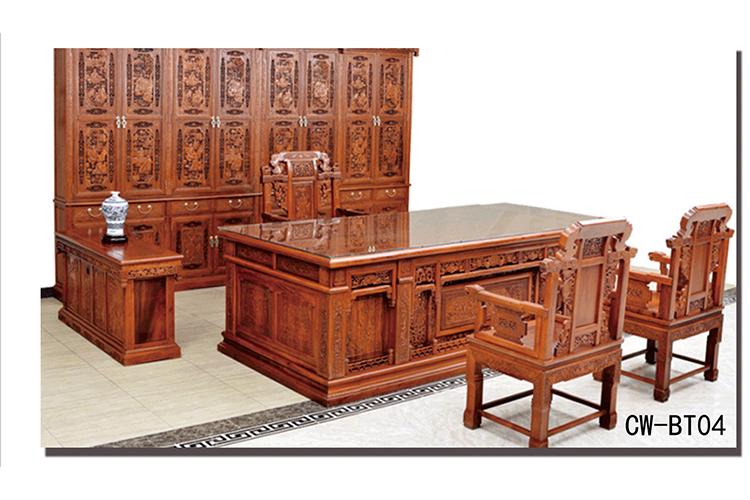 班台、班椅、书柜